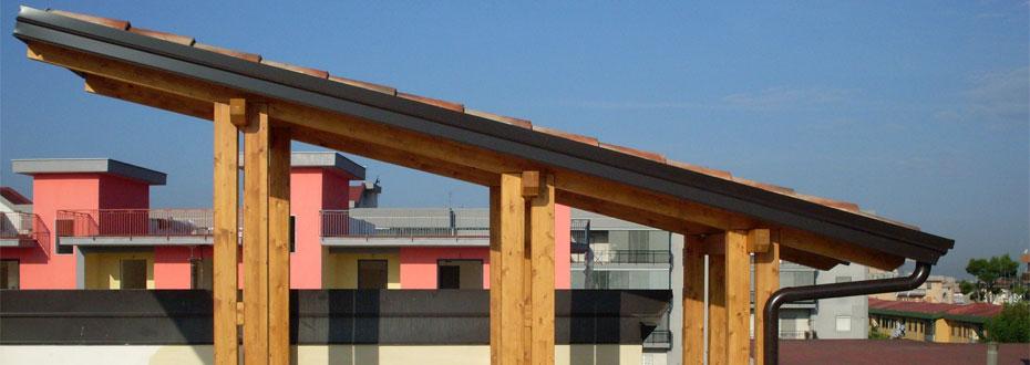 Cool lavorazione scale interne arredo terrazzi arredamento - Strutture mobili per terrazzi ...